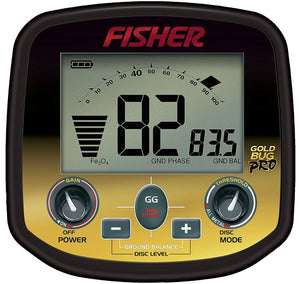 Fisher Gold Bug Pro Metal Detector Bundle with Free Gear