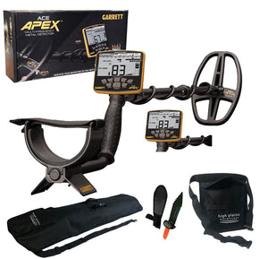 Garrett ACE APEX Metal Detector - Standard Package with Free Gear