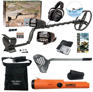 Garrett AT Pro Water Proof Metal Detector,  Pro Pointer AT Beach Hunter Package