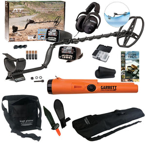 Garrett AT Pro Water Proof Metal Detector 55-Year Anniversary,  Pro Pointer AT & FREE Gear