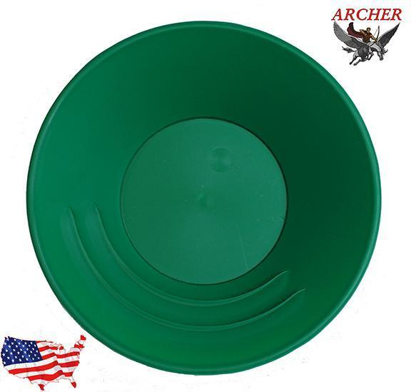 Archer 10 inch Gold Pan (Green)