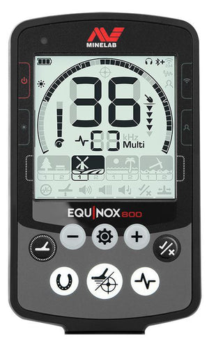 Equinox 800 Metal Detector with Pro-Find 20 Pinpointer