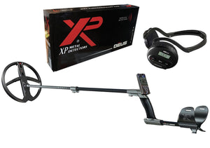 "XP DEUS Detector with 11"" X35 Coil, LCD Remote, and WS4 Wireless Headphones"