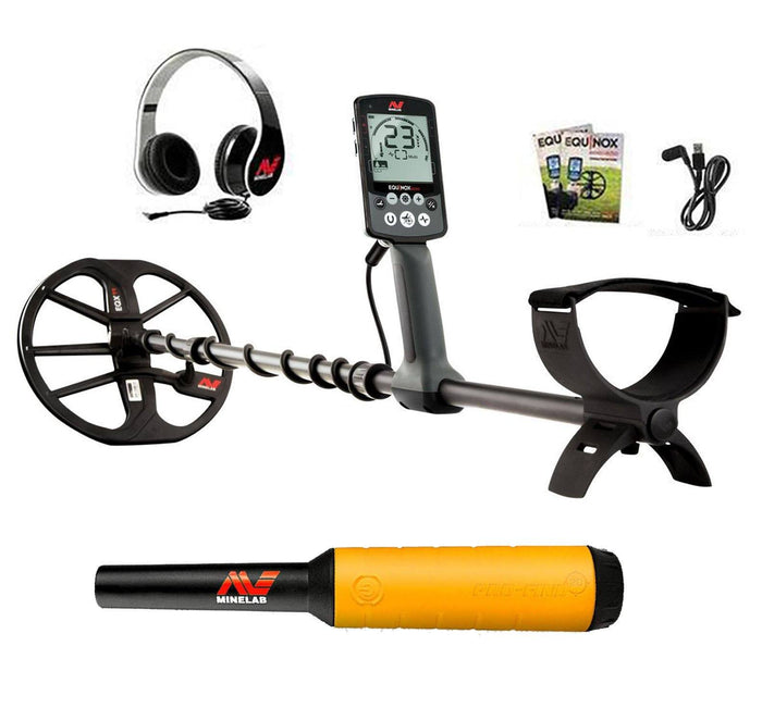 Minelab EQUINOX 600 Metal Detector with FREE Pro Find 20 Summer Sale
