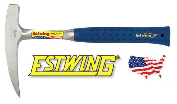 Estwing 13 oz Lightweight Rock Pick Milled Face