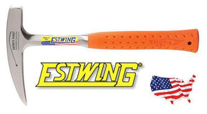 Estwing 14 oz Rock Pick Pointed Tip (Orange)