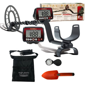 Fisher F44 Weatherproof Metal Detector with Extra Free Gear