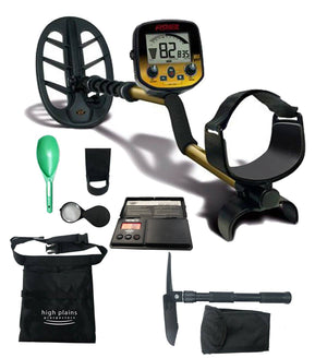 Fisher Gold Bug DP Metal Detector Bundle with Free Gear