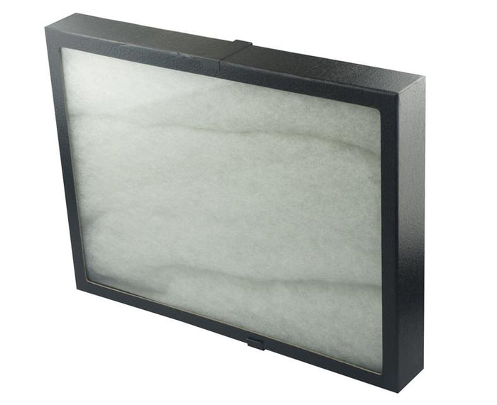 "Glass Top Riker Display Box With Metal Clips 16"" x 12"" x 2"""