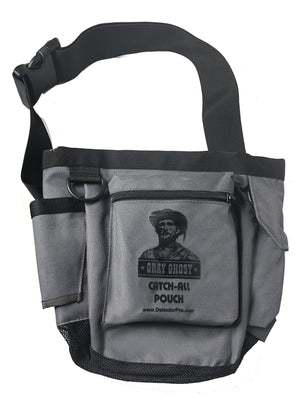 DetectorPro Gray Ghost Catch All Pouch
