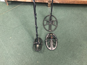 "Used F75 Special Edition Metal Detector With Extra 15"" and 10"" Nel Coils"