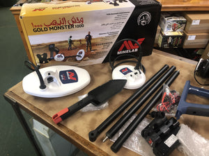 Returned Used Once Minelab Gold Monster 1000 Metal Detector