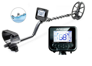Nokta Makro Kruzer Waterproof Metal Detector with PulseDive Pointer, Finds Pouch and Premium Digger