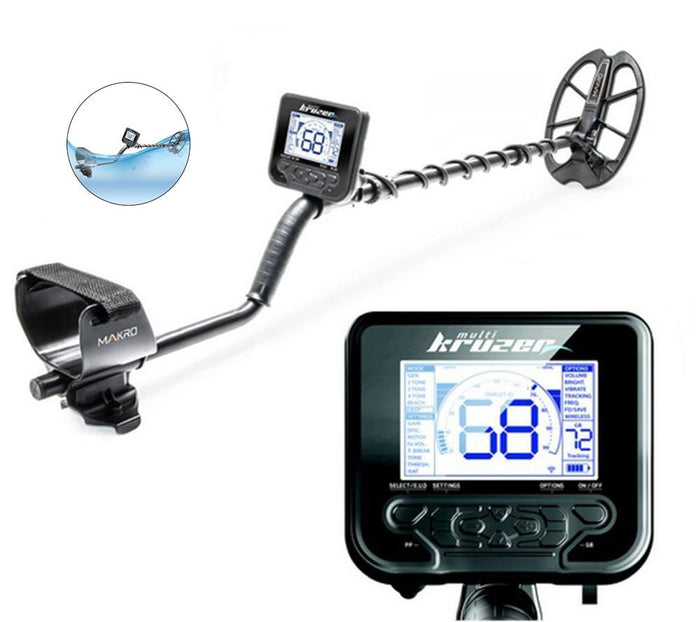 Multi Kruzer Waterproof Metal Detector