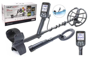 "Nokta Makro Simplex Plus Waterproof Metal detector with 11"" DD Coil and PulseDive 2-in-1 Pin-Pointer"