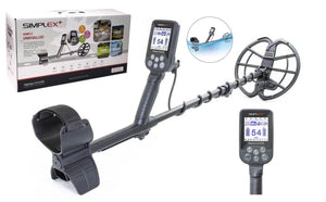 "Nokta Makro Simplex Plus Waterproof Metal detector with 11"" DD Coil"