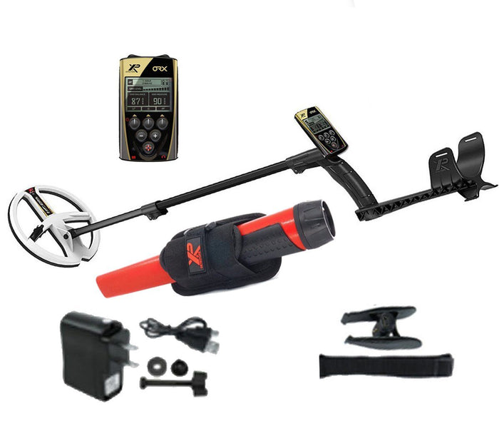 "ORX22 Metal Detector - 22.5cm Coil (9"") HF Coil & RC with MI-6 Promo"