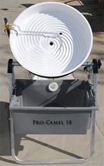 "Pro Camel 18"" Automatic Spiral Wheel Gold Panning Machine"