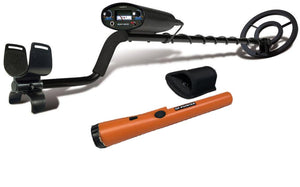 Bounty Hunter TK4 Tracker IV Metal Detector with GP Pinpointer