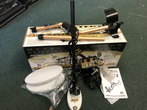 "Slightly Used Fisher Gold Bug 2 Combo 6.5"" and 10"" Coils Bundle"