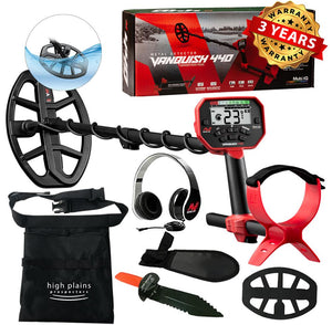 Minelab Vanquish 440 Metal Detector with Free Gear