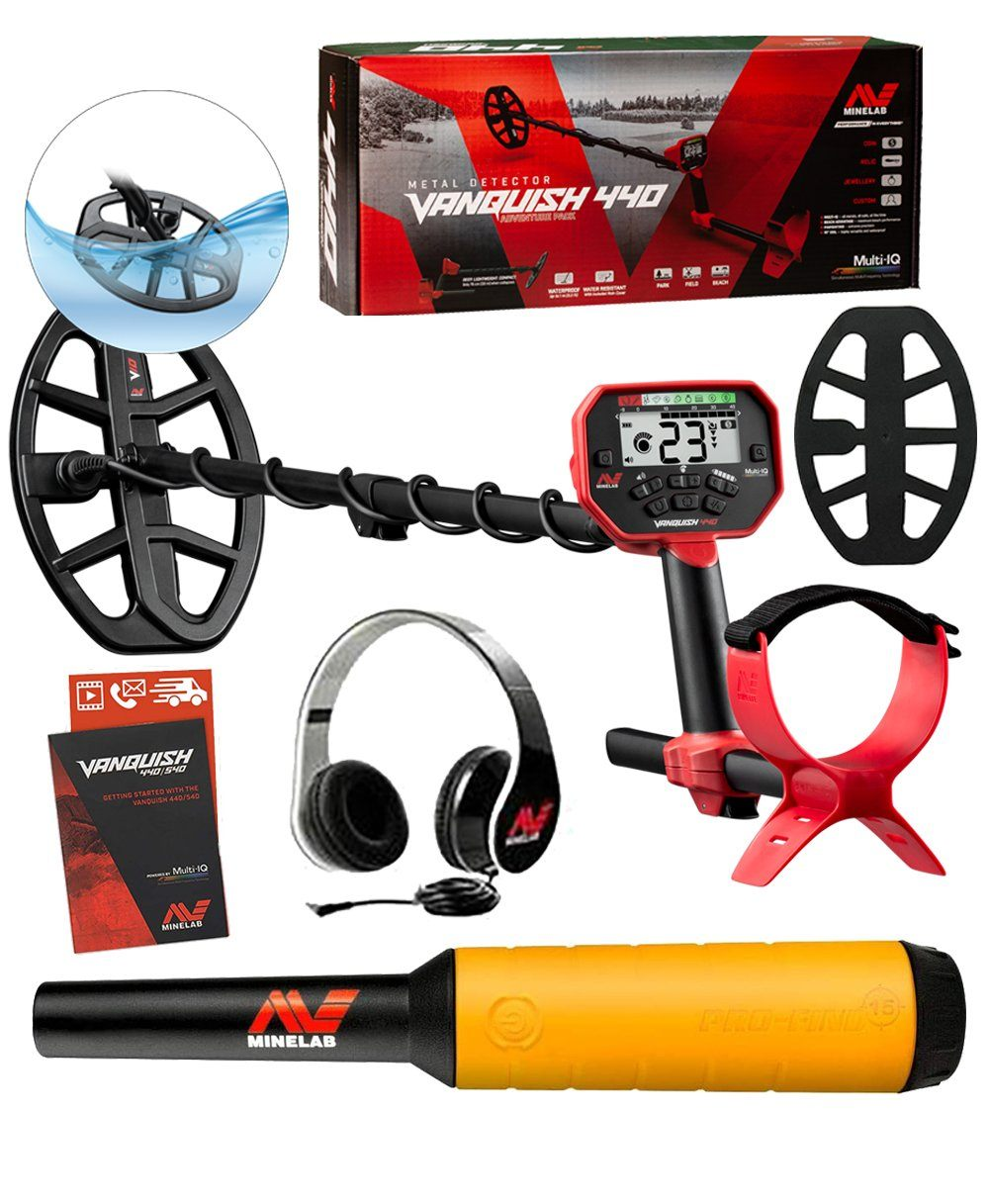 Minelab Vanquish 440 Holiday Special, FREE Pro-Find 15