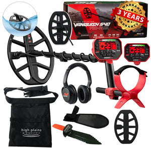 Minelab  Vanquish 540 Pro-Pack Metal Detector with Free Gear