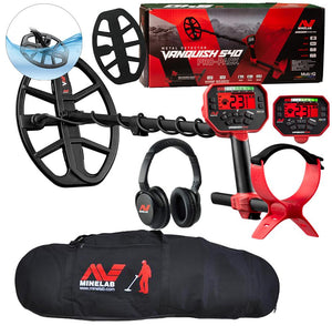 Minelab  Vanquish 540 Pro-Pack Metal Detector with Minelab Carry Bag
