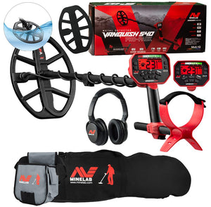 Minelab  Vanquish 540 Pro-Pack Metal Detector with Minelab Carry Bag and Finds Pouch