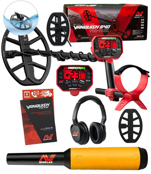 Minelab  Vanquish 540 Pro-Pack Holiday Special, Free Pro-Find 20