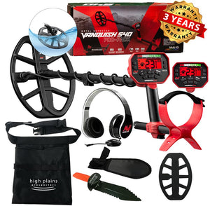 Minelab Vanquish 540 Metal Detector with FREE Gear