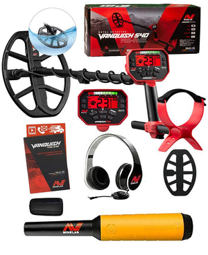 Minelab Vanquish 540 Holiday Special, FREE Pro-Find 20