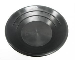 "10"" Basic Gold Pan - Black"