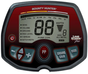 Bounty Hunter Land Ranger Pro Metal Detector with Free Gear