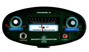 Bounty Hunter TK4 Tracker IV Metal Detector with Free Gear