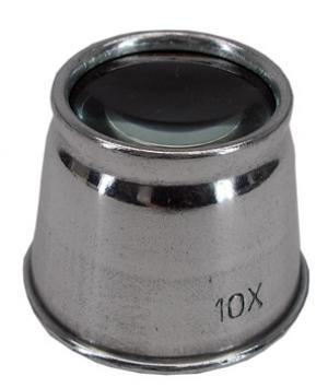 Eye Loupe Magnifier 10x-Metal Body
