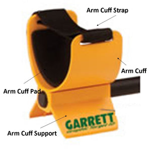 Garrett ACE Series Replacement Arm Cuff (Upper Part Only)