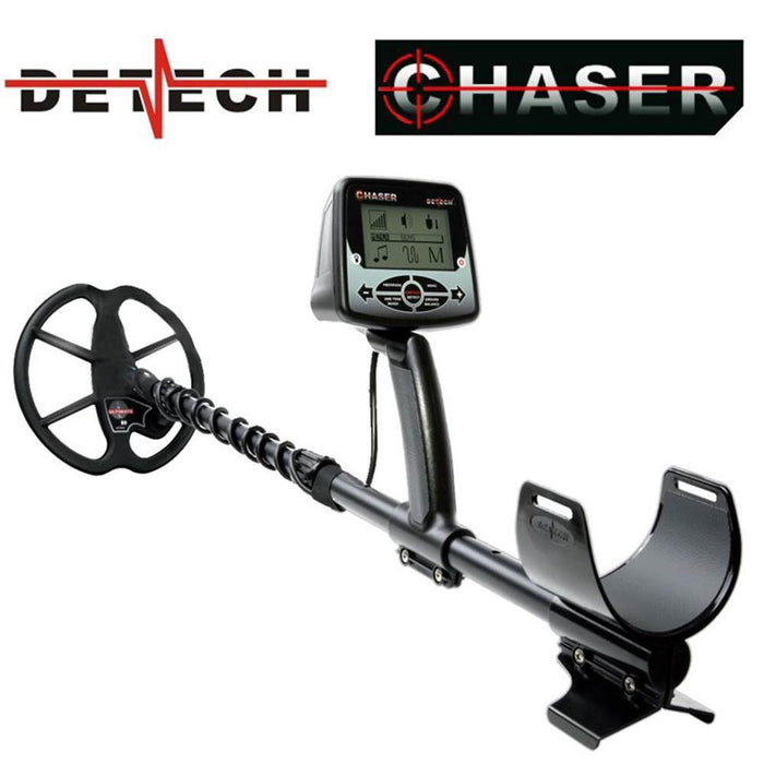 "Detech Chaser Metal Detector with 9"" Ultimate Search Coil"