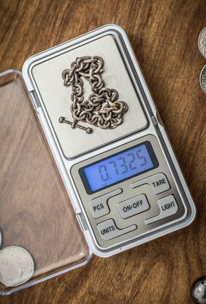 Electronic Pocket Scale 500 Gram Gold Prospecting Jobe