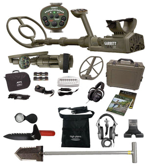 "Garrett ATX DEEPSEEKER Package with 20"" (50 cm) Deepseeker, NEW 11""x13"" Mono closed searchcoil, FREE Gear Garrett Metal Detectors garrett"