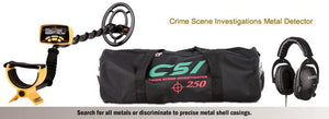 Garrett CSI 250 Ground Search Security & CSI Metal Detectors Garrett