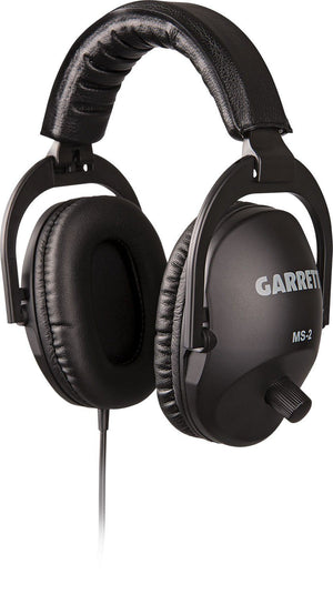 Garrett MS-2 HEADPHONES ¼-inch right angle stereo phone plug Accessories Garrett