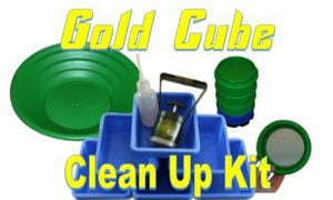 Gold Cube Clean Up Kit Gold Prospecting High Plains Prospectors