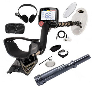 Nokta Makro Gold Racer Metal Detector Pro Package with Nokta PulseDive Pointer