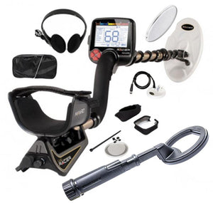 Nokta Makro Gold Racer Metal Detector Pro Package with Nokta PulseDive 2-in-1