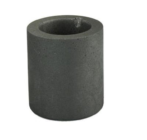 Graphite Crucible - 2 1/2 Inch Diameter by 3 Inches Deep Gold Prospecting High Plains Prospectors