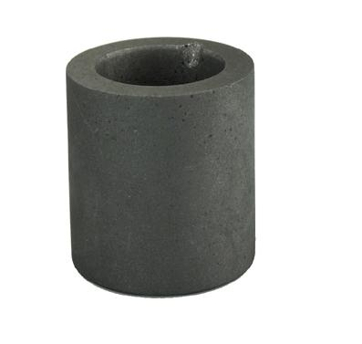 Graphite Crucible - 2 1/2 Inch Diameter by 3 Inches Deep