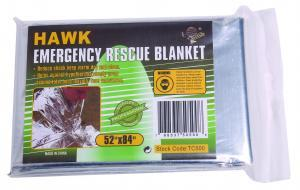 hawk emergency blanket Outdoor & Camping Gear Jobe