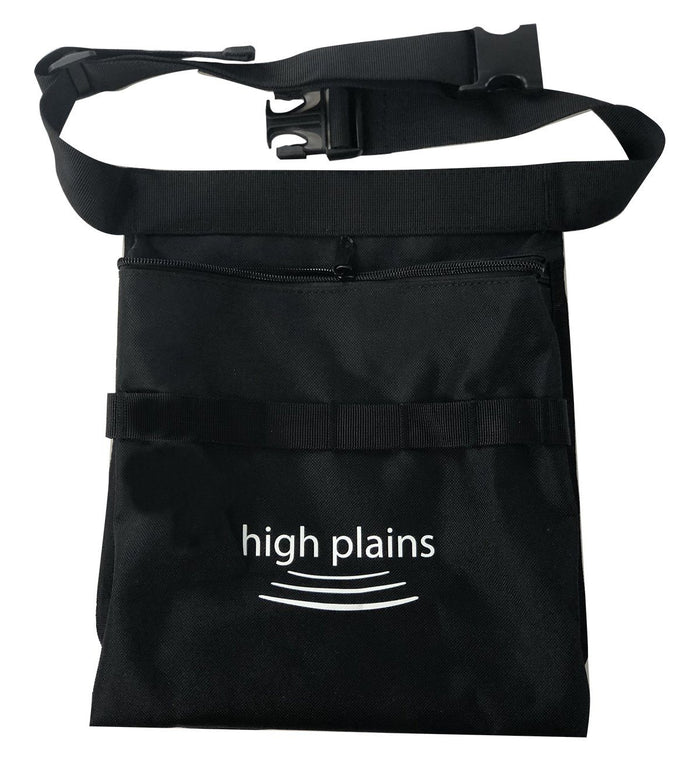 High Plains Large Black Finds Pouch