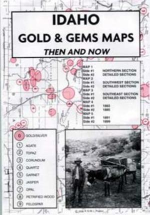 Idaho Gold and Gems Map
